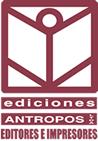 Ediciones Antropos